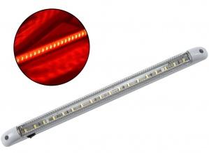 LED Φωτιστικό Οροφής 12V Με Διακόπτη on/off Κόκκινο