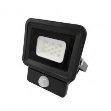 Προβολέας SLIM 10 Watt 230 Volt με Ανιχνευτή Κίνησης Ψυχρό Λευκό