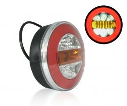 LED Neon Φανός Οπίσθιος 12V / 24V Φρένων - Φλας - Όπισθεν - Πορείας