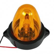 LED Φάρος Πλευρικής Σήμανσης Πορτοκαλί 12V - 24V