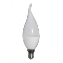 Κεράκι LED E14 6 Watt 230V Λευκό Ημέρας Φλόγα