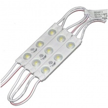 LED Modules 3 SMD 2835 Για Επιγραφές Aδιάβροχο Θερμό Λευκό