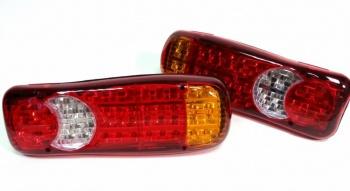 Σετ LED Φανάρι Φορτηγού Πίσω 12V Φρένων - Φλας - Όπισθεν - Πορείας - Ομίχλης