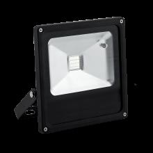 LED Προβολέας Μαύρος 50W RGB με Τηλεχειριστήριο IP65 LYRA