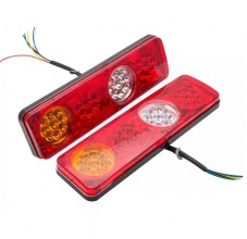 Σετ LED Φανάρι Φορτηγού Πίσω 12V Φρένων - Φλας - Όπισθεν - Πορείας L/R