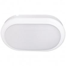 LED Φωτιστικό 15W 4000Κ IP54 Οβάλ Λευκό
