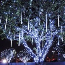 LED Λαμπάκια Σταλαχτίτες Χιονιού Ψυχρά 6 τμχ. 50cm 2М+5М IP44 220V