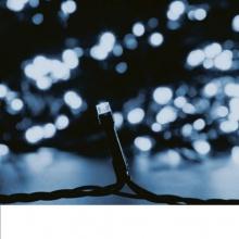 LED Λαμπάκια 3.6W 10М.100LED Μπλέ IP44 230V Πράσινο Καλώδιο