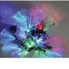 LED Λαμπάκια με Οπτική Ίνα 3.6W 4.15М. 30LED RGB με Κοντρόλερ IP20 230V