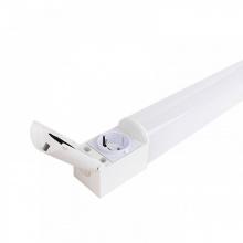 LED Φωτιστικό για Μπάνιο με Πρίζα 0.50cm 8W 4000Κ IP65