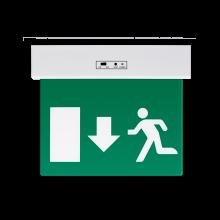LED Φωτιστικό Ασφαλείας 3W με Βέλος Κάτω