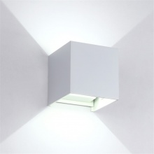LED Φωτιστικό Τετράγωνο 10W 4000Κ IP54 Λευκό
