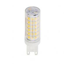Λαμπτήρας LED G9 6 Watt 230v Θερμό Λευκό Στρογγυλό