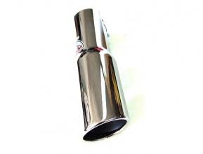 Μπούκα Εξάτμισης INOX 60mm Στρογγυλή