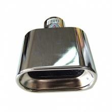 Μπούκα Εξάτμισης INOX 60mm Πλακέ