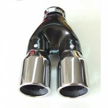 Μπούκα Εξάτμισης INOX Διπλή 65mm