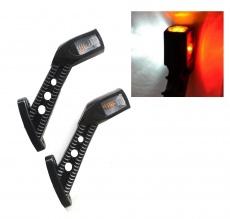 Τριπλά πλευρικά φώτα θέσης 4 LED 12V/24V (τ. κέρατα)