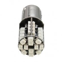 Λαμπτήρας LED BA15S (1156) Can Bus 44 SMD 3030 12V Πορτοκαλί 1 Τεμάχιο