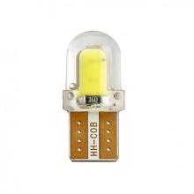 LED T10 COB SMD 12V Ψυχρό Λευκό 1 Τεμάχιο με Επικάλυψη Σιλικόνης