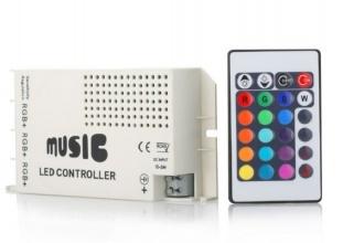 Controller Μουσικής RGB Ασύρματος 12V / 24V