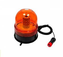 LED Φάρος Πορτοκαλί 12V / 24V Με Μαγνήτη και Βεντούζα E9