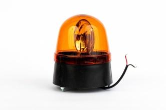 Φάρος Πορτοκαλί 12V / 24V Με Λαμπτήρα H1 Ø 146mm