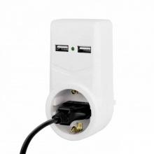 Αντάπτορας 1+2 Θέσεων USB