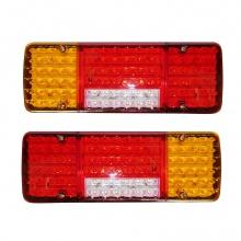 Σετ LED Φανάρι Φορτηγού Πίσω 24V Φρένων - Φλας - Όπισθεν - Πορείας - Ομίχλης L/R