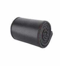 Κάλυμμα Τιμονιού Οικολογικό Δέρμα 37cm - 38cm Μαύρο