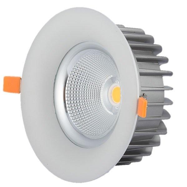 Led Cob Downlight 40 Watt Bridgelux Chip Ψυχρό Λευκό