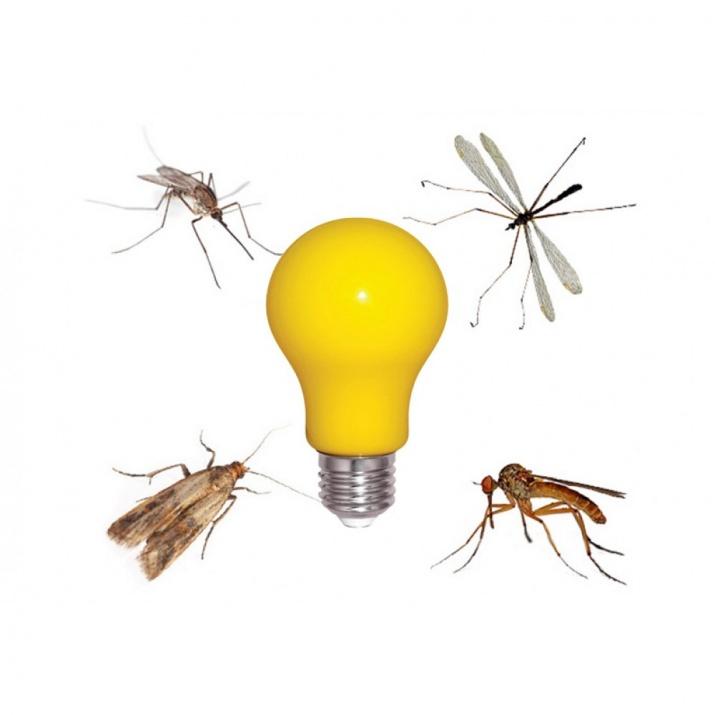 Εντομοαπωθητική LED Λάμπα 6 Watt 2200K