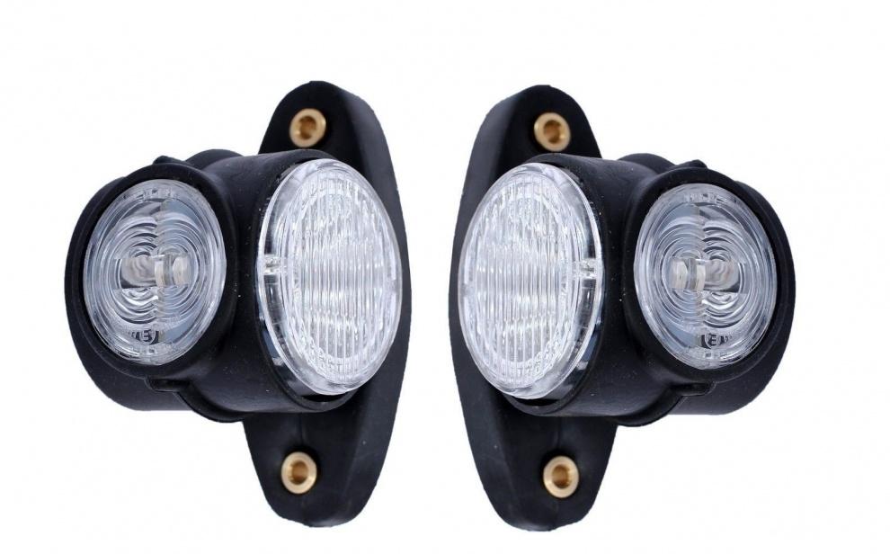 Τριπλά πλευρικά φώτα θέσης κόκκινα/λευκά/κίτρινα 12-24V SMD LED