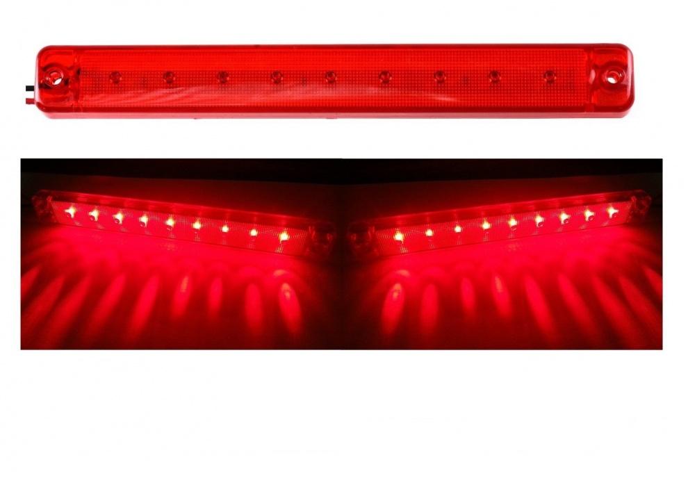 Φανός LED κόκκινος πίσω-φρένων 12V
