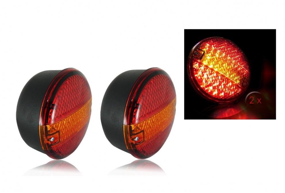 Σετ LED Φανόι Οπίσθιοι 24V Φρένων - Φλας