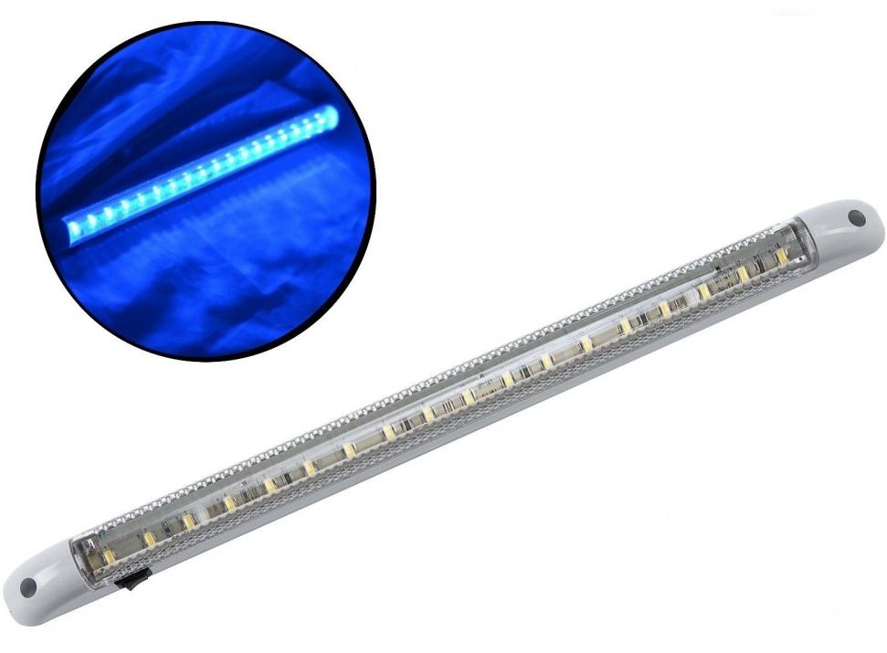 LED Φωτιστικό Οροφής 24V Με Διακόπτη on/off Μπλέ