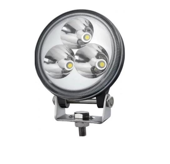 Προβολέας EPISTAR LED 9 Watt Υψηλής Ισχύος 10-30 Volt 60° Μοίρες