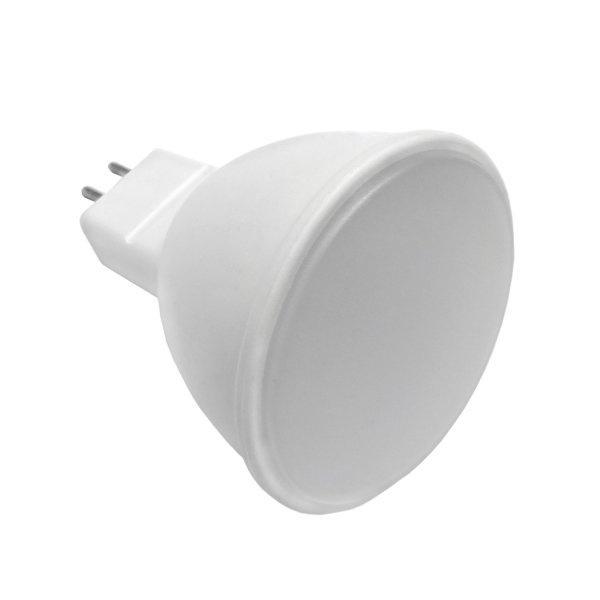 Led Σπότ GU5.3 MR16 5 Watt 12V DC Θερμό Λευκό