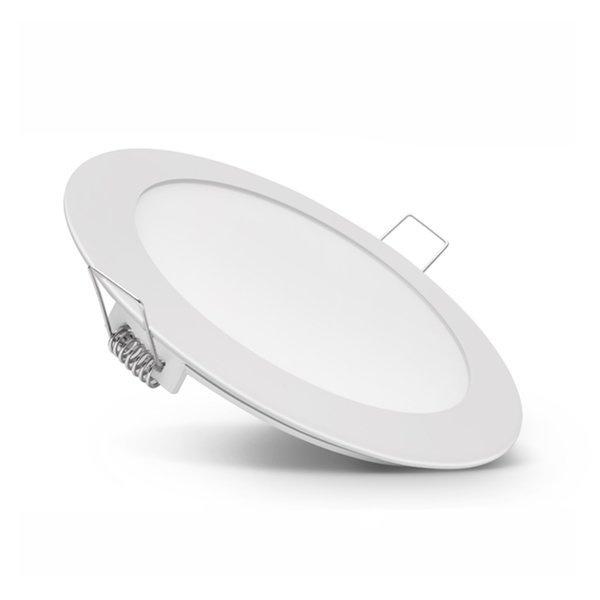 Φωτιστικό Πάνελ Οροφής Λευκό 12 Watt 230 Volt Θερμό Λευκό