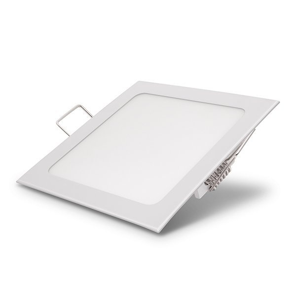Φωτιστικό Τετράγωνο Πάνελ Χωνευτό 6 Watt 230 Volt Λευκό Ημέρας