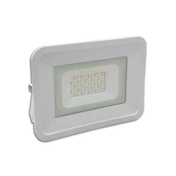 Προβολέας Λευκός SMD 20 Watt 230 Volt θερμό Λευκό