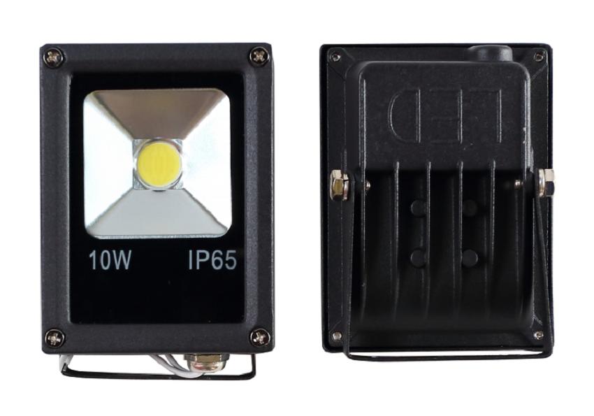 Προβολέας Led Slim 10 Watt 230V Ψυχρό λευκό 3 χρόνια Εγγύηση