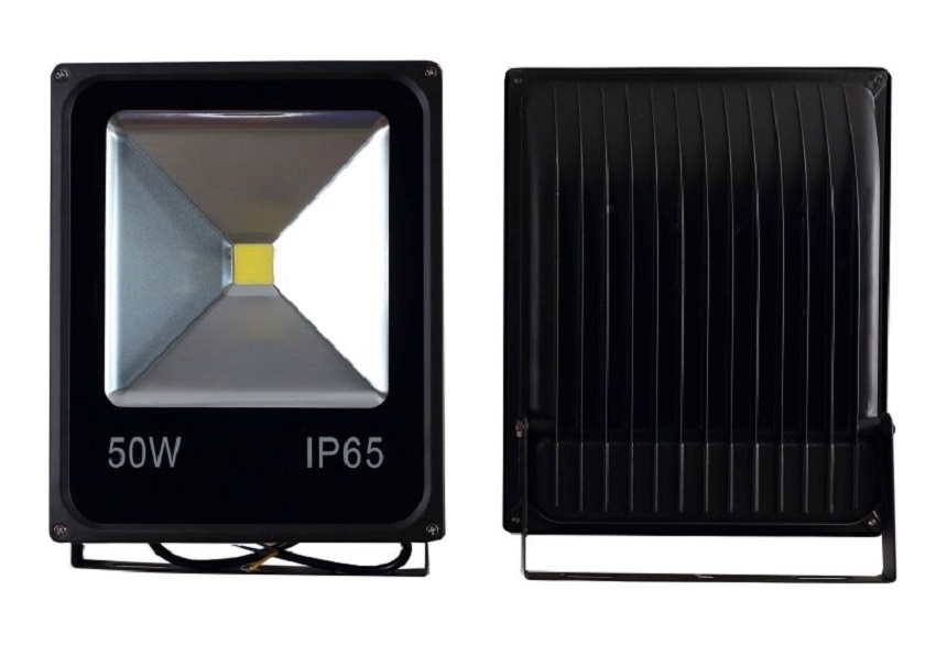 Προβολέας Led Slim 50 Watt 230V Ψυχρό λευκό 3 χρόνια Εγγύηση