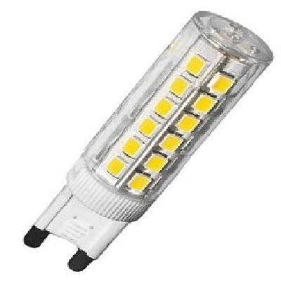 Λαμπτήρας LED G9 6 Watt 230v Θερμό Λευκό Dimmable