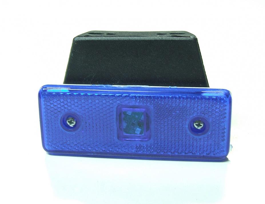 LED Φωτιστικό Πλευρικής Σήμανσης 24V Μπλε