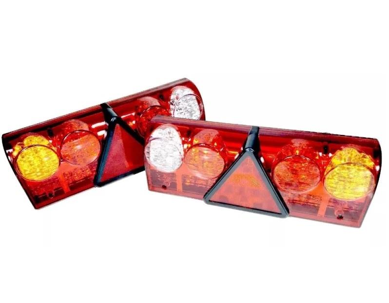 Σετ LED Φανάρι Φορτηγού Πίσω 12V / 24V Φρένων - Φλας - Όπισθεν - Πορείας L/R