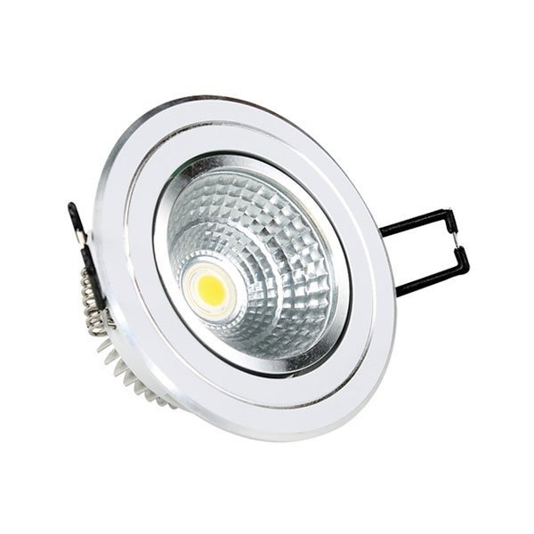 Led Cob Downlight 5 W Epistar Chip Ψυχρό Λευκό