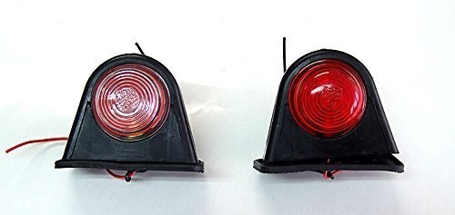 LED Όγκου 24V IP66 Κόκκινό / Λευκό