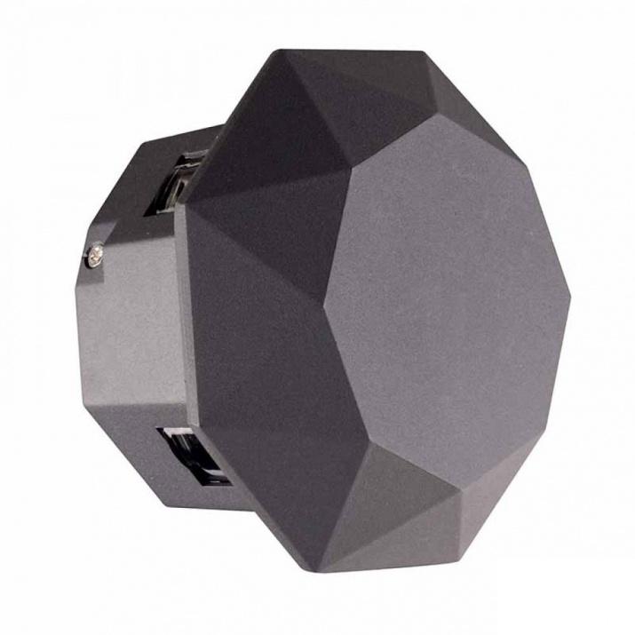 LED Φωτιστικό Κήπου 6W 6000Κ IP54 Στρογγυλό