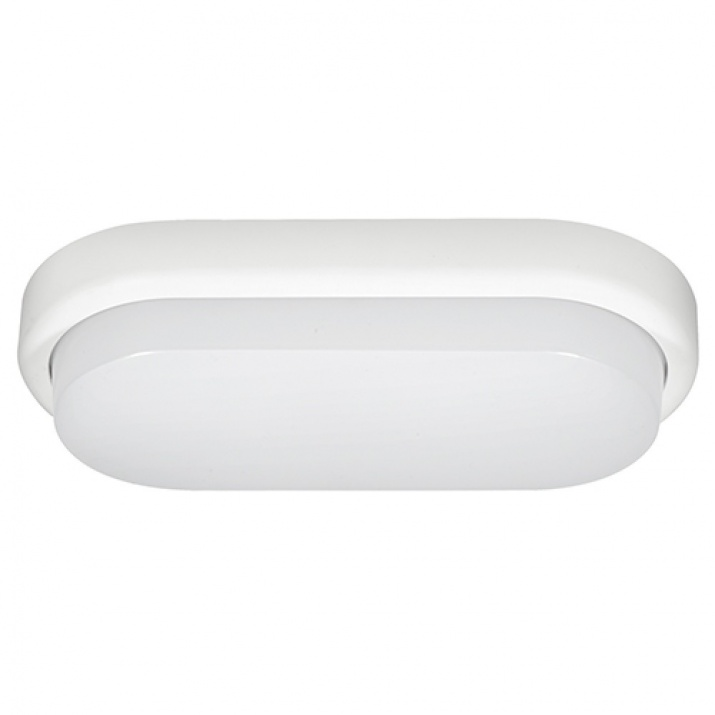 LED Φωτιστικό 12W 4000Κ IP54 Οβάλ