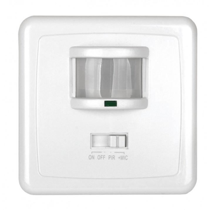 Αισθητήρας Κίνησης Λευκός 360° Χωνευτός